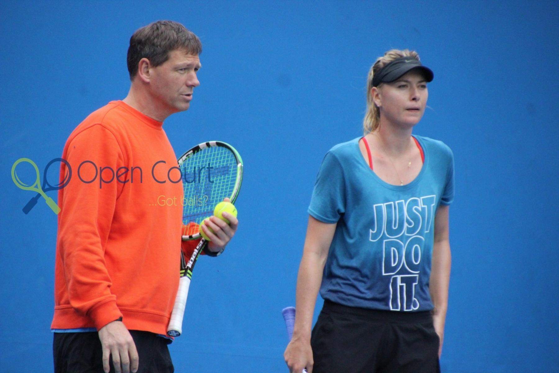 Jan21-Maria Sharapova with Sven