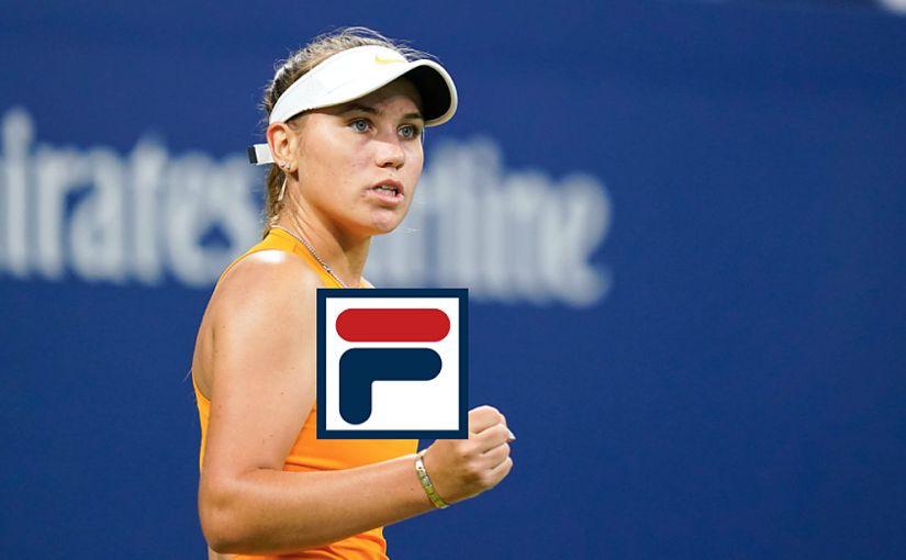 Fila Signs American Sofia Kenin The Only Tennis Website