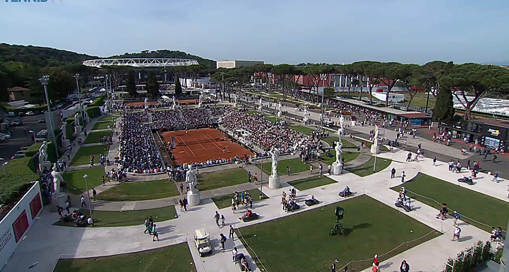 Atp Moves Up Rome Adds Hamburg Nixes Finals Fans The Only Tennis Site