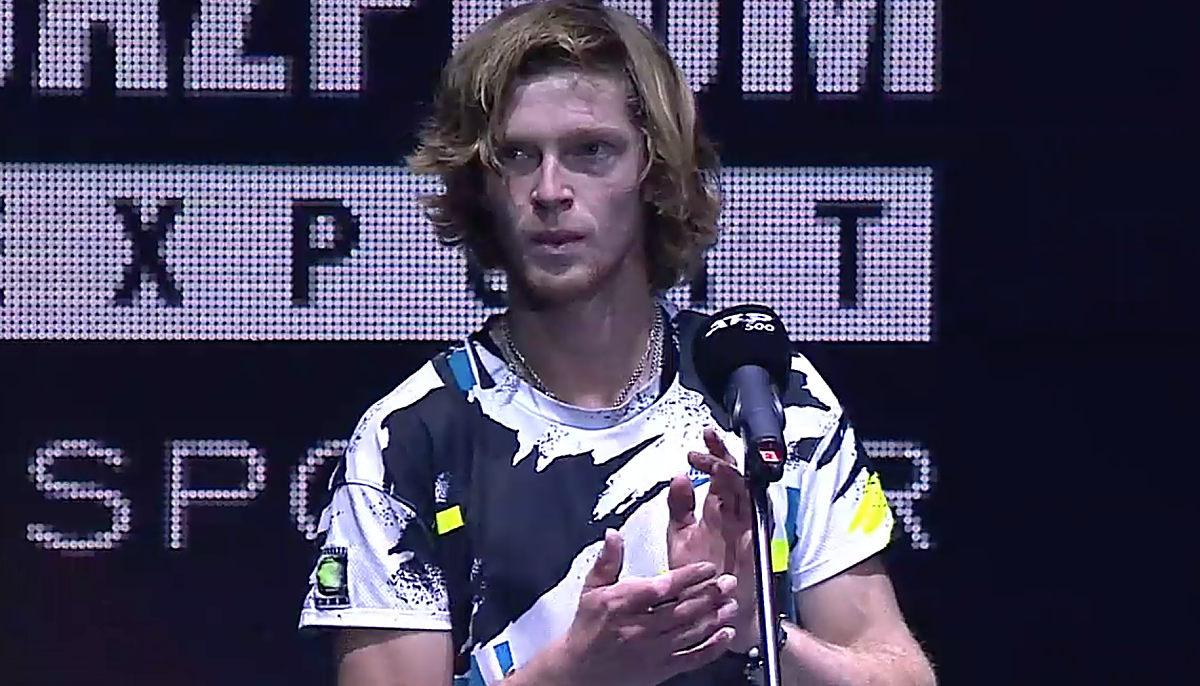 St. Petersburg champion Rublev leaps to a career high No. 8 (TennisTV)