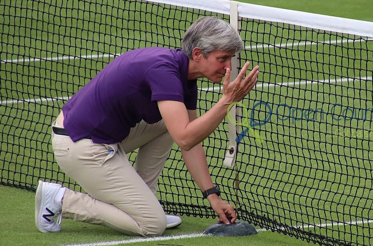 Qualifying begins at Roehampton on Monday. And sometimes the nets don't work.