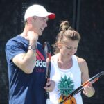 Simona Halep and Darren Cahill call it a G'Day
